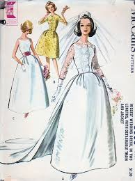 vintage wedding dress patterns 60s wedding dress bridal gown pattern hepburn style