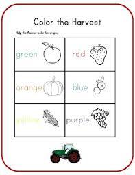 fall worksheets pre k u0026 kindergarten by library learning mom tpt