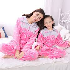 autumn and winter children s pajamas parent family suit boys