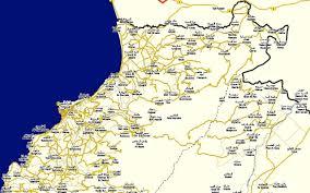 Map Of Lebanon Tarabulus Map