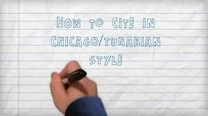 quote lecture mla citing how to cite in chicago turabian style a three minute