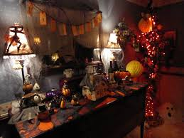 decorating your house homemade outdoor halloween decorations party diy how to make out
