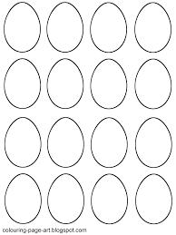 easter egg shapes templates u2013 happy easter 2017