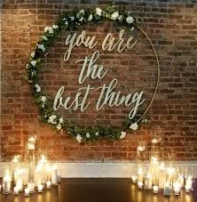 wedding backdrop sign 30 beautiful christmas decorations that turn your staircase into a