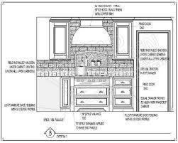 kitchen elevation cad block faucet cabinet drawings eiforces