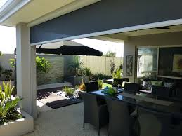 Outdoor Rolling Blinds Outdoor Blinds Gallery Ph 1800 861 355 Nu Style Shutters