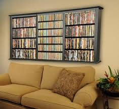 Upholstery Dvd Living Room Cd Storage Shelves Wall Mounted With Best 25 Dvd Ideas