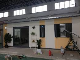 buy prefab house container house sandwich panel walls and roof
