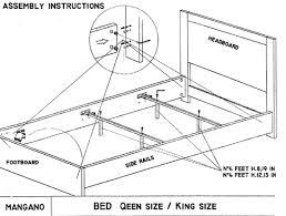 bedroom furniture dimensions fujise us