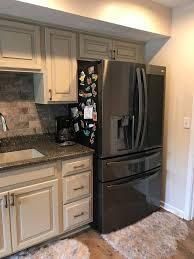 images of white glazed kitchen cabinets amish custom cabinetry antique white with gray flood glaze