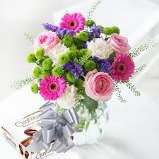 flowers gift floral gift set