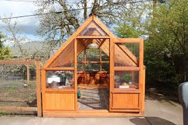 front view of cedar hobby greenhouse excellent design sun