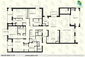 plan for four bedroom flat home design ideas