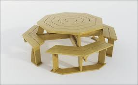 How To Build An Armchair Exteriors Wonderful Plywood Picnic Table Picnic Table Chairs
