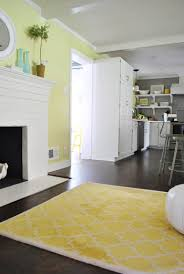 Yellow And Gray Kitchen Rugs And Now For A Kitchen Rug Fashion Show Young House Love