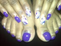 purple rain nail art archive style nails magazine