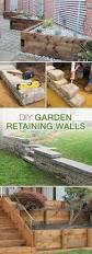 diy garden retaining walls the garden glove