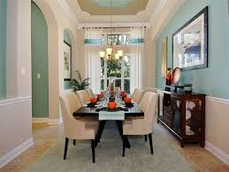traditional dining room with pendant light u0026 chair rail zillow