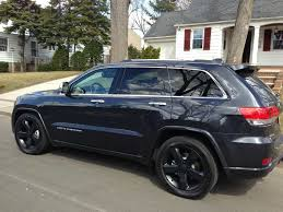 black jeep grand with black rims 2014 max steel overland black wheels jeep garage jeep forum
