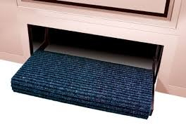 amazon com prest o fit 2 0422 ruggids rv step rug midnight blue
