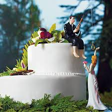 fisherman cake topper fisherman fishing pole and groom wedding cake topper candy