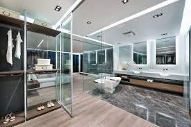 Open Bathroom Design Millimeter Interior Design Creates Luxury Urban Bachelor Pad
