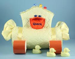 unique diaper cake log baby gift