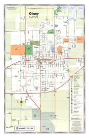 olney il city map