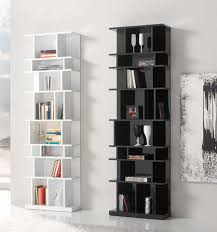 Staggered Bookshelves by The Appeal Of The Modern Wall Bookcases Bookshelvesdesign Com
