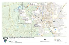 Colorado Springs Co Map by Maps Of Projects By Watershed Colorado Emergency Watershed