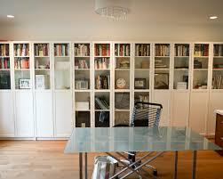 ikea hemnes glass door cabinet bookshelves eclectic living room with hemnes glass door cabinet