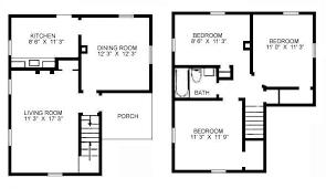 3 bedroom floor plans floor plan of three bedroom home design ideas
