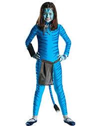 blue jumpsuit costume amazon com avatar blue jumpsuit neytiri