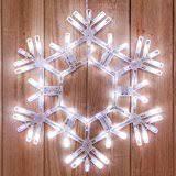 36 led folding twinkle snowflake decoration