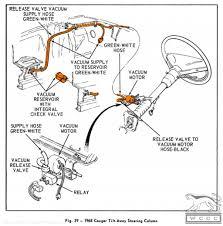 vacuum release valve tilt tilt away used 1968 mercury