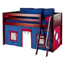 Cottage Deluxe Low Loft Tent Bed Hayneedle - Tent bunk bed