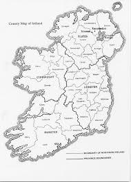 ireland map printable free download