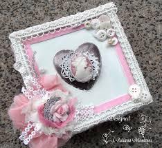 shabbychicjcouture shabby chic heart cameo keepsake box