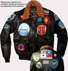 Gun Halloween Costumes Fancy Dress Halloween Costume 17 Patch 1 Flight Jacket