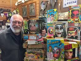 south elgin man selling vintage halloween costume collection