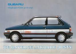 old subaru hatchback subaru justy specs and photos strongauto