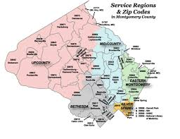 me a map of maryland regional services centers montgomery county md