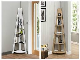 Space Saver Bookcase New Birlea Nordic Space Saver Corner Shelf Bookcase In Oak Or