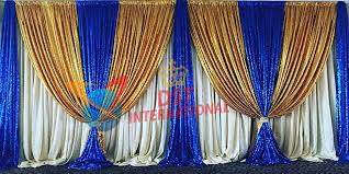 stage backdrops wedding stage embroidered backdrop dst international