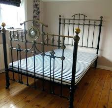 Antique Cast Iron Bed Frame Iron Bed Frame Vectorhealth Me