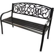 White Metal Outdoor Bench Metal Outdoor Benches