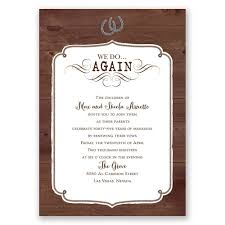vow renewal ceremony program western revival vow renewal invitation invitations by