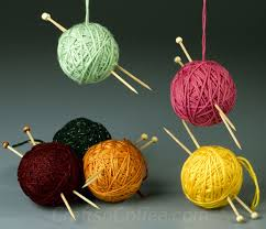 a cozy craft to make today of yarn