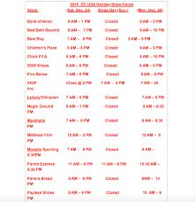 2016 dc usa store hours popville