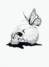 skull butterfly by georgemanygoats on deviantart